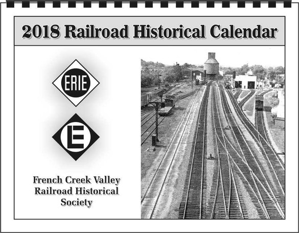 2018 Erie Calendar from FCVRRHS in PA